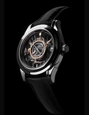 Tourbillon Central Co-Axial Platine Squelette Edition Limitée