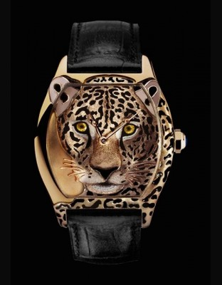 Tortue XL décor jaguar