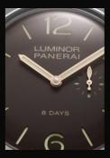 Luminor 1950 Left-Handed 8 Days Titanio