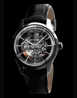 De Ville Hour Vision Co-Axial Skeleton Platinum Limited Edition