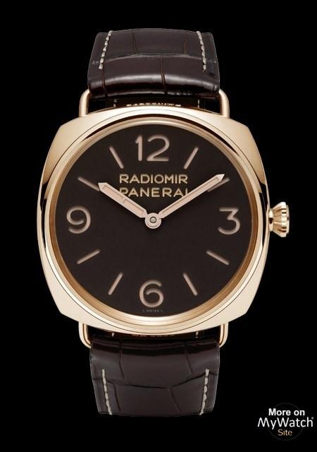 Radiomir 3 Days Oro Rosa