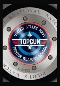 Montre d'Aviateur Double Chronographe Edition TOP GUN