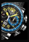 Silverstone Stowe GMT Blue & Yellow