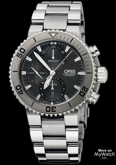 Oris Aquis Titan Chronographe