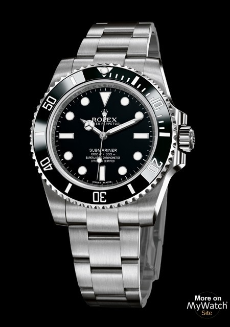 rolex submariner oyster perpetual 114060 97200 acier lunette cerachrom noir. Black Bedroom Furniture Sets. Home Design Ideas