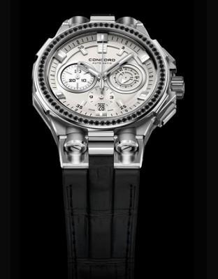 C2 Chronograph Black & White - BlackFrost