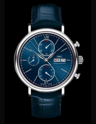Portofino Chronographe Edition Laureus Sport for Good Foundation