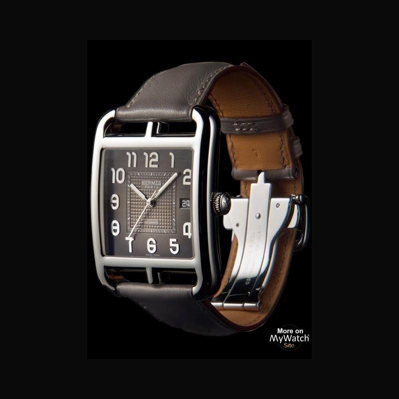 Hermès Cape Cod Grand Modèle Etain   Cape Cod 037782WW00 Acier ... ba6d69d29f4