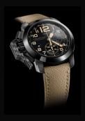 Chronofighter Oversize Black Sahara