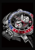 Chronofighter Oversize GMT Blue and Red