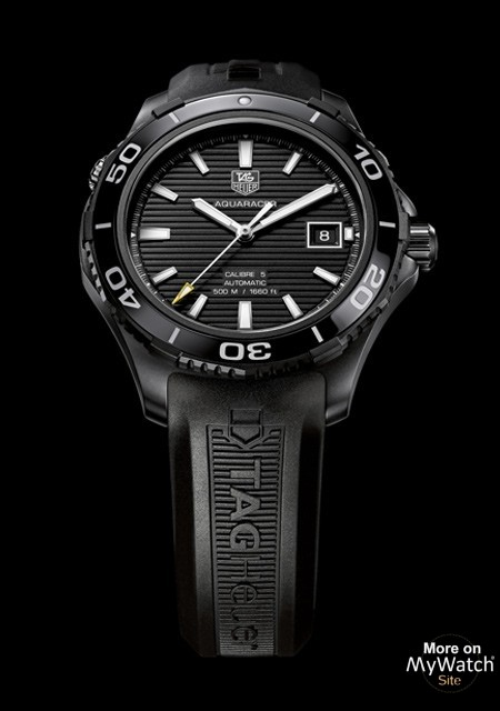 Tag Heuer Aquaracer 500m Ceramic Calibre 5 Full Black