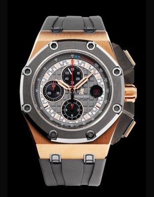 Chronographe Royal Oak Offshore Michael Schumacher Edition Limitée