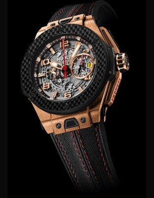 Big Bang Ferrari King Gold Carbon