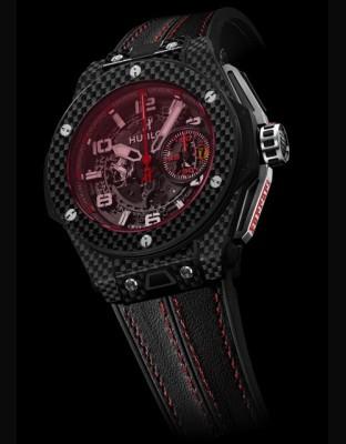 Big Bang Ferrari Carbon Red Magic