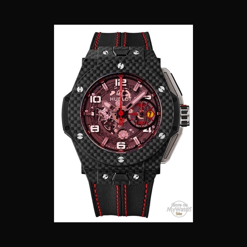 hublot big bang ferrari carbon red magic big bang 401. Black Bedroom Furniture Sets. Home Design Ideas