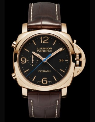 Luminor 1950 3 Days Chrono Flyback Oro Rosso