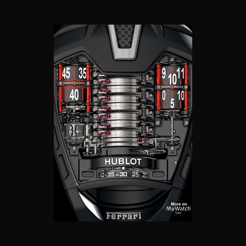 hublot masterpiece 39 mp 05 la ferrari 39 masterpiece 905 titane pvd noir bracelet. Black Bedroom Furniture Sets. Home Design Ideas