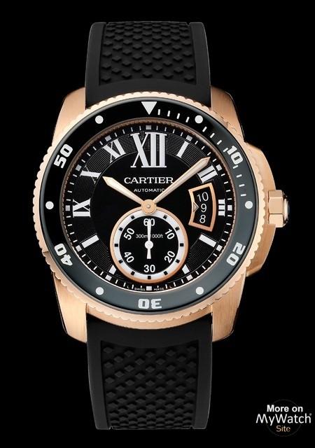 Calibre de Cartier Diver