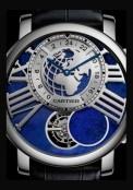 Rotonde de Cartier Terre et Lune