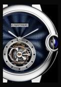 Ballon Bleu de Cartier 39 mm Tourbillon Volant émail