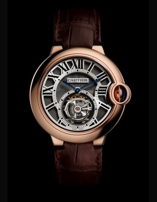 Ballon Bleu de Cartier 39 mm Tourbillon volant