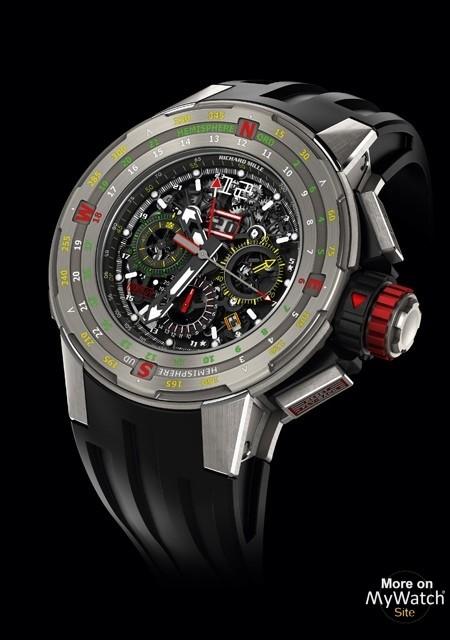 RM 60-01 Chronographe Flyback Régate