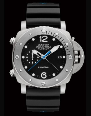 Luminor Submersible 1950 3 Days Chrono Flyback Automatic Titanio