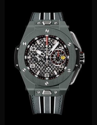 Big Bang Ferrari Grey Ceramic
