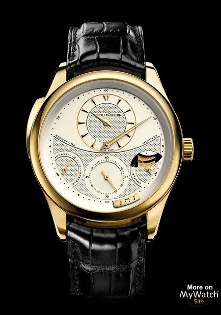 Jaeger LeCoultre Master Grande Tradition à Répétition Minutes | Master Grande Tradition Q5011410 Or Jaune
