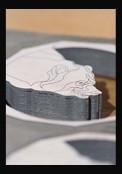 Rotonde de Cartier 42 mm Heures Sautantes décor ours