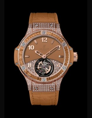 Big Bang Tutti Frutti Tourbillon Camel Pavé