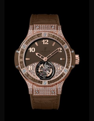 Big Bang Tutti Frutti Tourbillon Brown Pavé