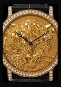 Rotonde de Cartier 42 mm Panthère en granulation