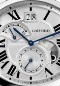 Drive de Cartier grande date, second fuseau rétrograde et indicateur jour/nuit