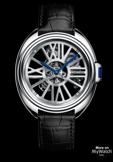 Clé de Cartier Squelette Automatique