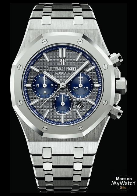 Nouveaux produits 4a9e4 35bd3 Audemars Piguet Royal Oak Chronographe | Royal Oak 26331IP-OO-1220IP-01  Acier - Bracelet Acier