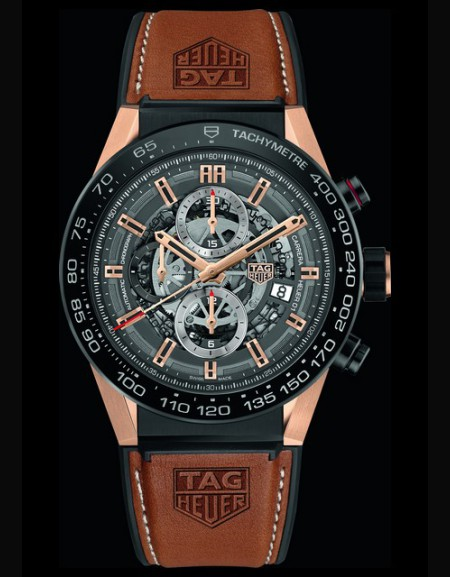 CARRERA Heuer Rose Gold