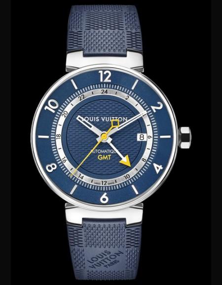 Tambour Moon GMT Blue, acier