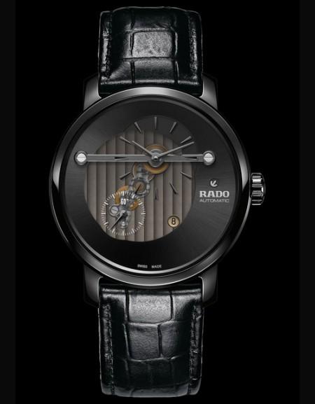Diamaster bracelet noir cadran noir - (montreunisexe)