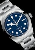 BLACK BAY 41 Cadran bleu bracelet Acier