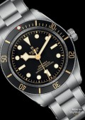BLACK BAY FIFTY EIGHT cadran noir bracelet acier