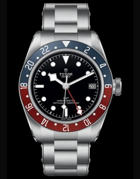 BLACK BAY GMT Cadran Noir Bracelet Acier