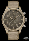 "Montre d'Aviateur Chronographe TOP GUN Edition ""Desert Mojave"""