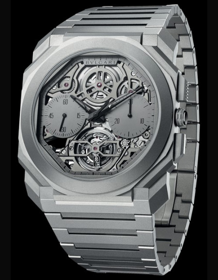 Octo Finissimo Tourbillon Chronographe Squelette Automatique