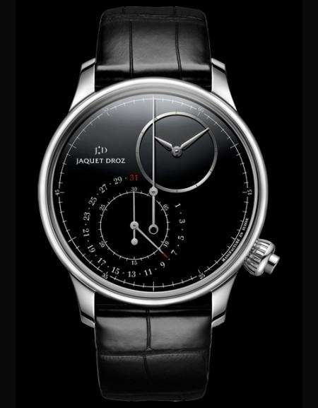 Grande Seconde Décentrée Chronographe Onyx Noir