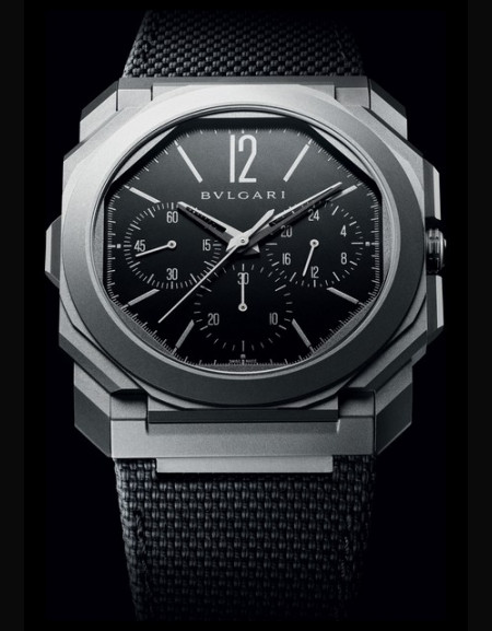 Octo Finissimo Chronographe GMT Version Titane