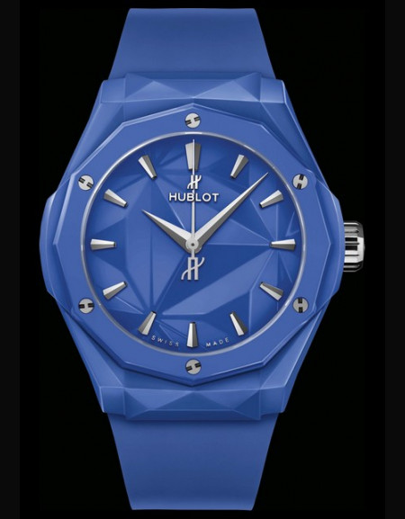 Classic Fusion Richard Orlinski Céramique Bleue 40mm