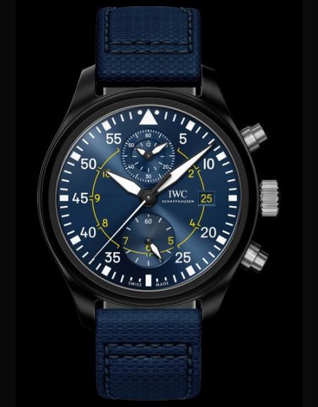 IWC Montre d'Aviateur Chronographe Edition Spéciale Blue Angels