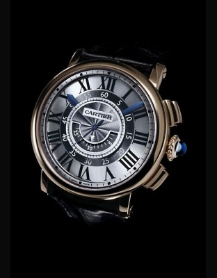 Rotonde de Cartier chronographe central
