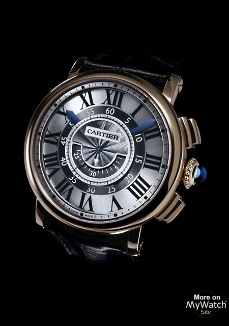 Rotonde de Cartier chronographe central